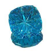 Beeindruckend schöner Blauer Topas im Kombinations John Dyer Schliff mit 12,65 ct.