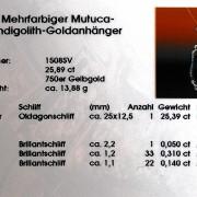 Edelsteinschmuck Zertifikat