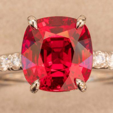 Rubin Ring, Winza Rubin von oben