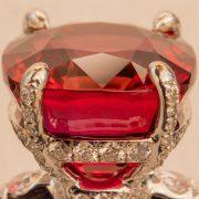 Abbildung Winza Rubin Ring Fassung (vergrößert)